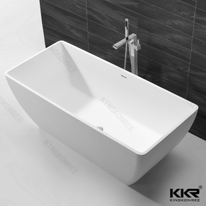 Solid surface bathtub KKR-B062